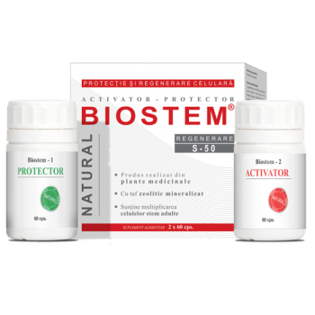 biostem 2x60 capsule, bionatura plant