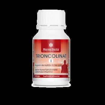trioncolinat 1, sistem imunitar, 180 capsule, pharma dacica