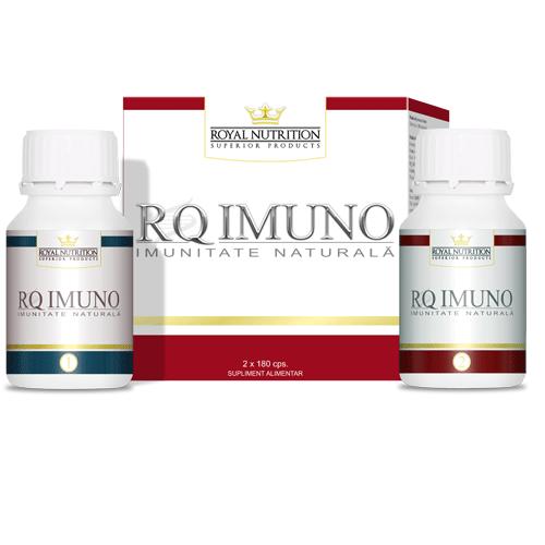 RQ imuno, 2x180 capsule, imunitate naturala, royal nutrition